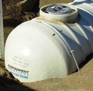13,000 Gallon Xerxes Underground Fiberglass Fire Protection Tank - Diameter 10'-0