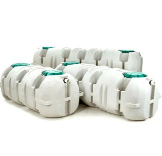 "1,000 Gallon Single Compartment Septic Tank - ""Low Profile Unplumbed Version""-0"