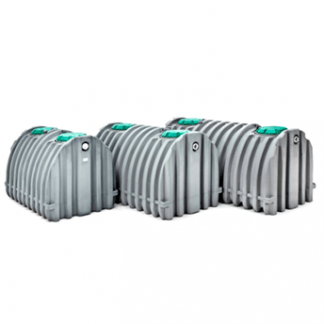 1500 Gallon NuConSept Septic Tank- Double Compartment (pre-plumbed) IAMPO-0