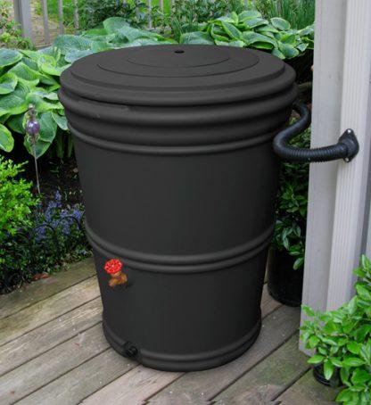 60 Gallon Rain Barrel - recycled