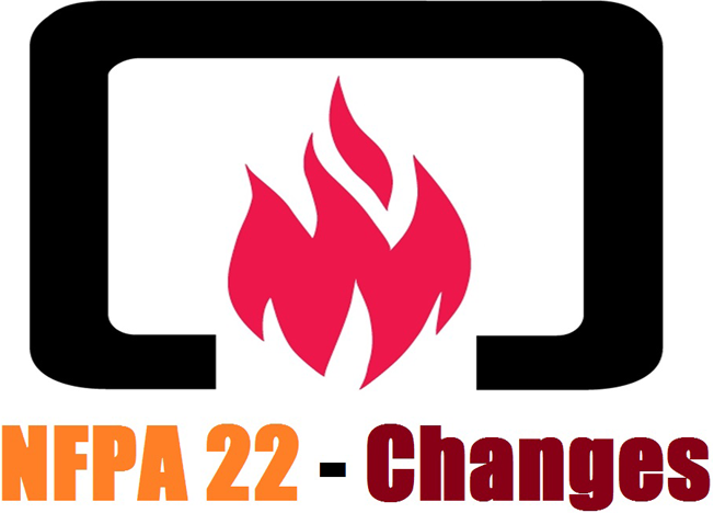Changes in NFPA 22 – California Fire Suppression Water Tank