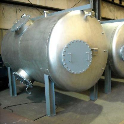 "9'-4"" Dia x 10'-0"" Long ASME Horizontal Pressure Vessels -Tank-0"