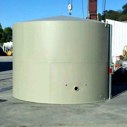 "10'-4"" Dia x 8'-0"" Tall Vertical Gauge Steel Welded Tank-0"
