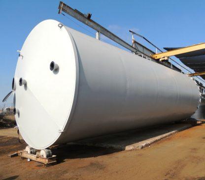 """8'-0"""" Dia x 27'-0"""" Long UL 142 Double Wall Horizontal Steel Welded Tank-0"""