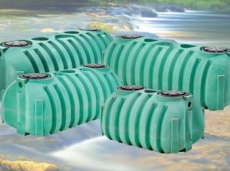 1,000 Gallon Septic Tank Double Compartment – NexGen D2-0