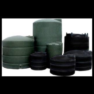 Polyethylene green black water storage tank