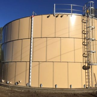New 150,000 Gallon Carbon Bolted Steel Tank-0