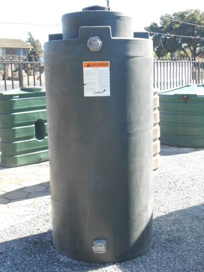 "300 gallon water storage tank 35""D x 81""H-0"