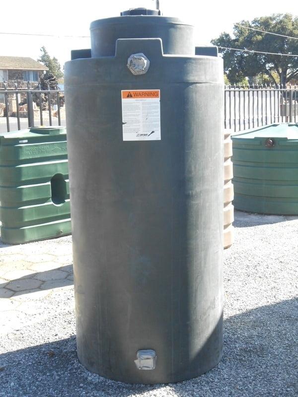 """300 gallon water storage tank 36""""D x 82""""H"""