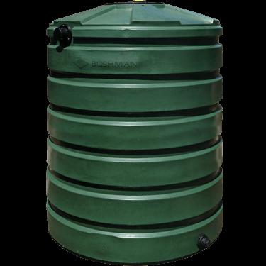 "420 Gallon Rain Harvesting Round Tall Tank 45""D x 64""H-0"