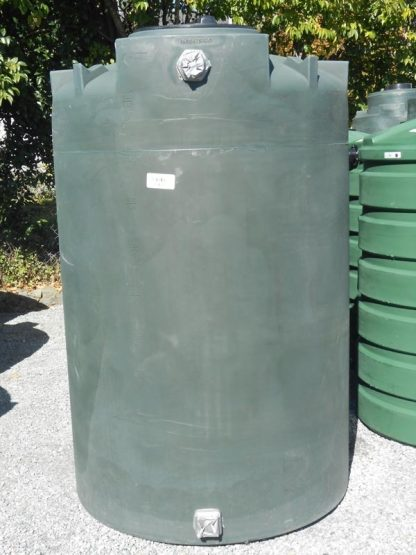 "550 Gallon Plastic Water Storage Tank 48""D x 74""H-0"