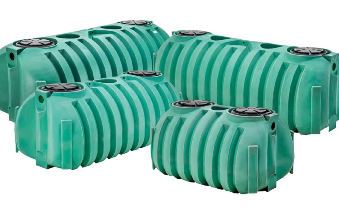 1000 Gallon Septic Tank Single Compartment 60 D X 51 H X 127 L