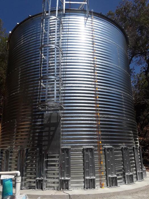 California potable water tank