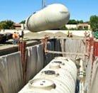 Underground Fiberglass Tank