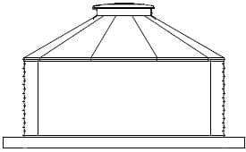 Flat Panel 30 Degree Corrugated Tanks