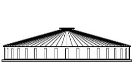 J-Rib 10 degree Corrugated Tanks