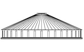 J-Rib 30 Degree Corrugated Tanks