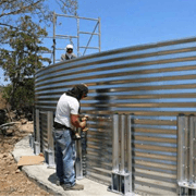Corrugated Bolted Steel