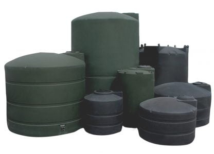 Some of our plastic water storage tanks