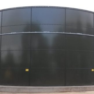 4,000 Gallon Glass-Fused Bolted Steel Tank