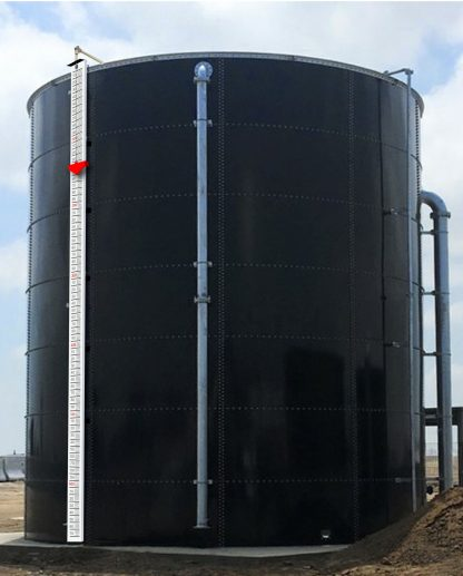 64,000 Gallon Glass-Fused Bolted Steel Tank