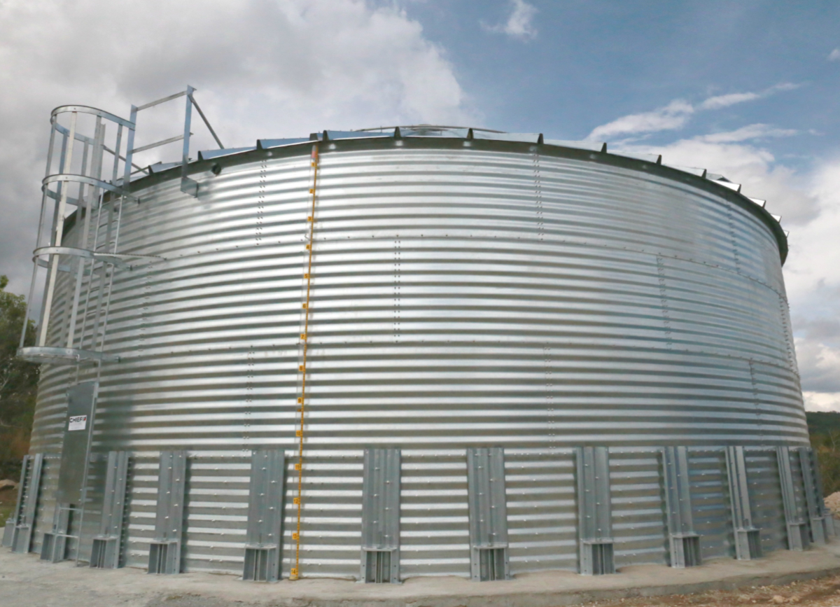 6500 Gallons Galvanized Water Storage Tank