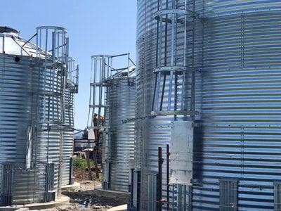 6000 Gallons Galvanized Water Storage Tank