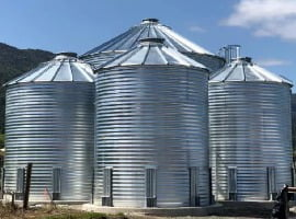 Corrugated Bolted Steel Tanks