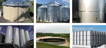 Types of Above Ground Water Storage Tanks