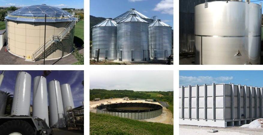 Types of Above Ground Water Storage Tanks