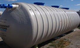 10,000 Gallon Horizontal Potable Water Tank