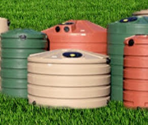 Snyder and Bushman Plastic Water Tanks